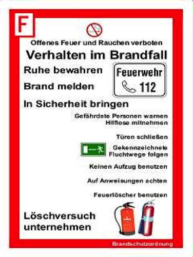 brandschutzhinweis